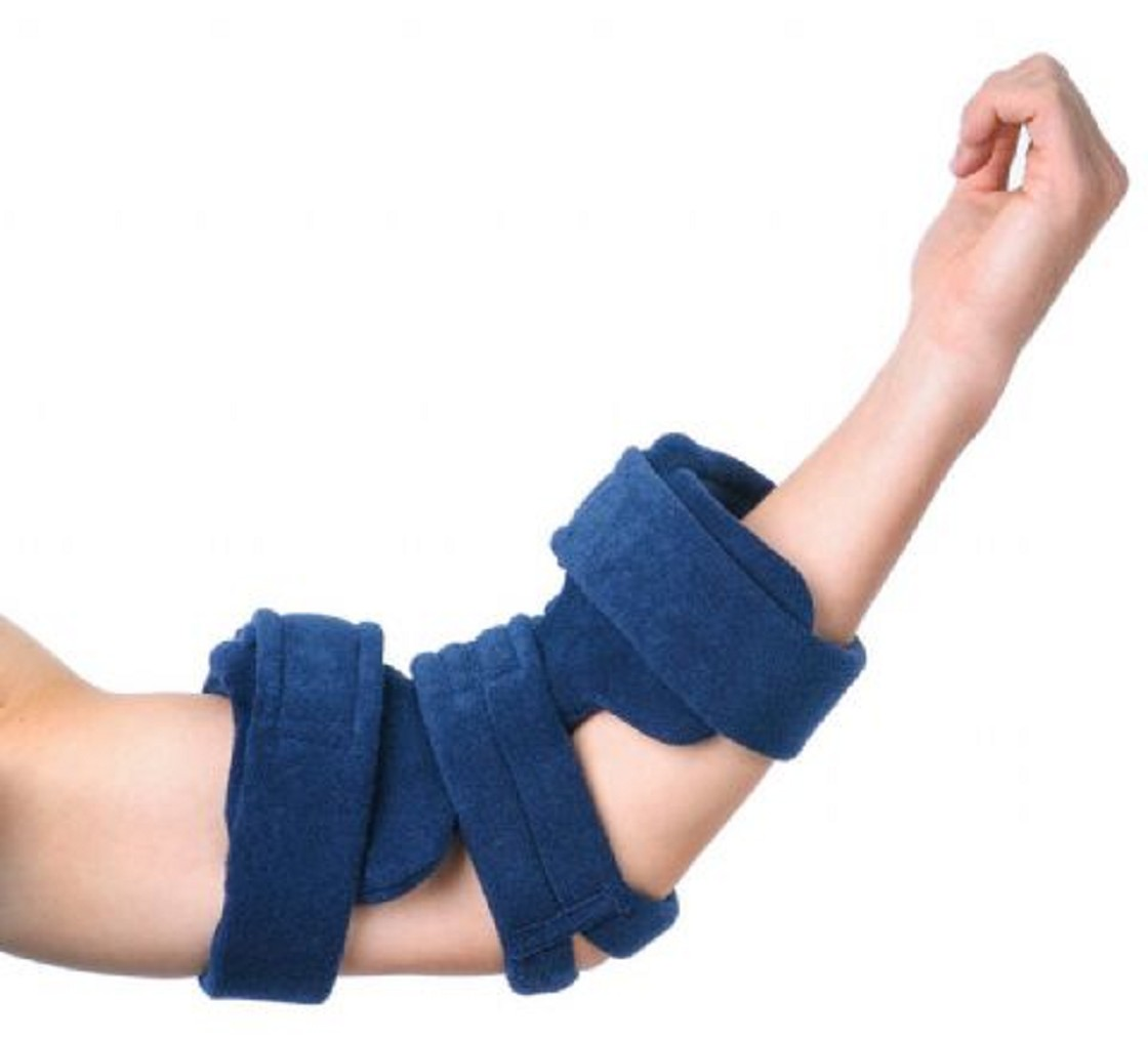 Comfy splints pediatric spring loaded goniometer elbow