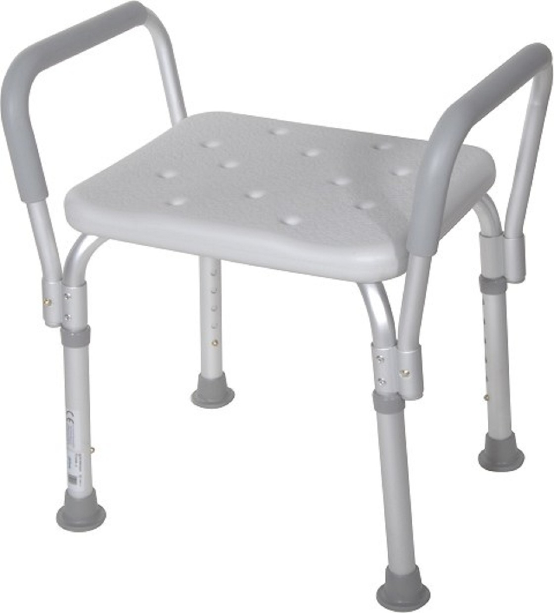 Knock Down Bath Bench With Padded Arms Free Shipping
