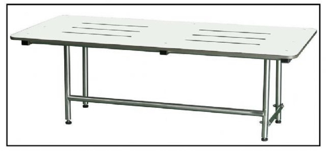 Stainless Steel Ada Folding Dressing Bench