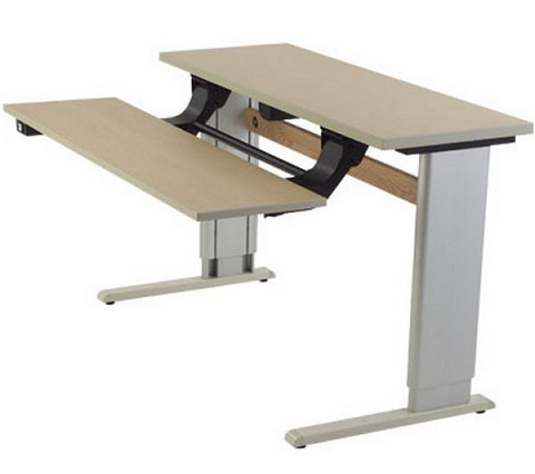 Adjustable Dual Surface Workstation Free Shipping