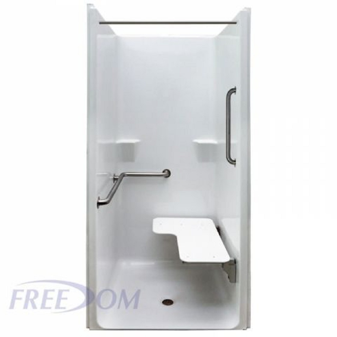 Freedom Ada One Piece Transfer Shower Stall