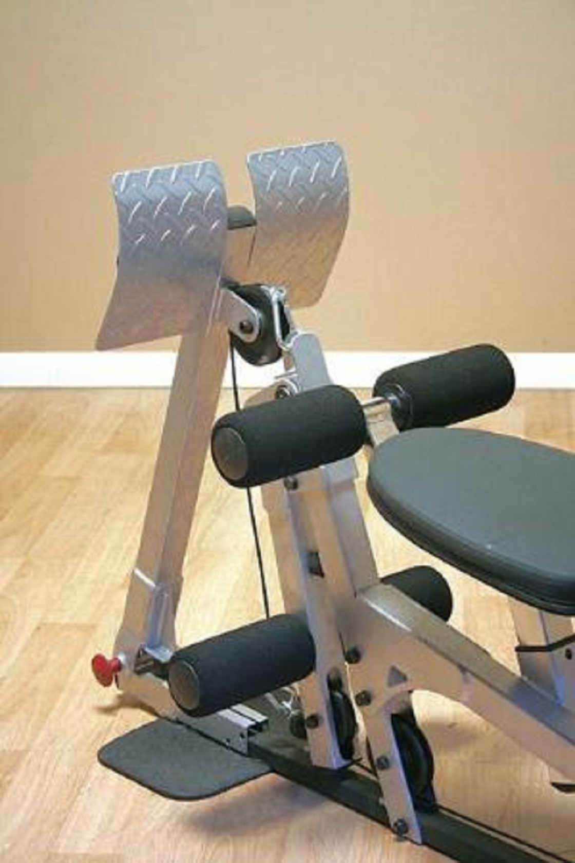 Leg press attachment for bsg home gym