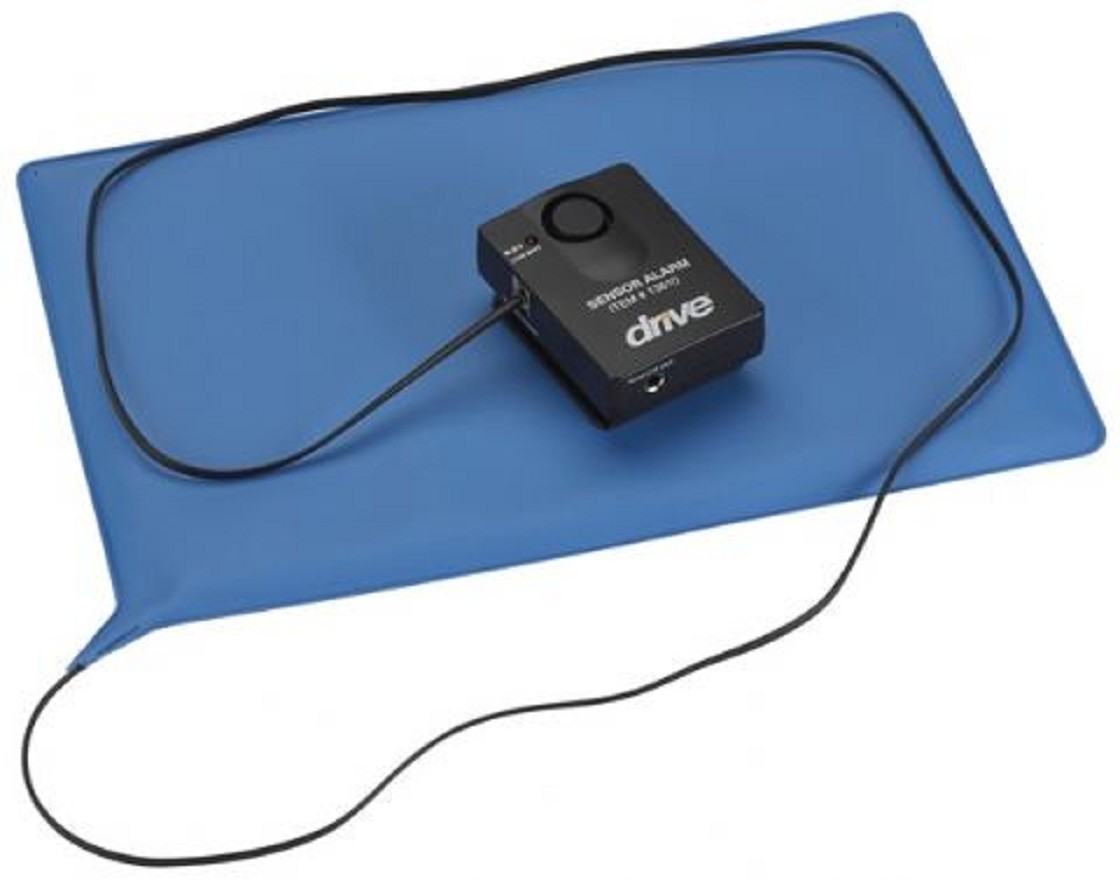 Water Bed For Patients - Pressure sensitive chair or bed patient alarm