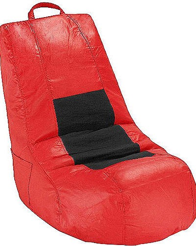 L Shaped Bean Bag Lounger Chair FREE Shipping