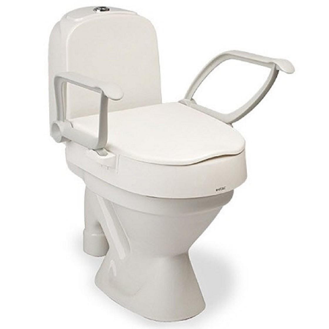 etac cloo raised toilet seat free shipping. Black Bedroom Furniture Sets. Home Design Ideas