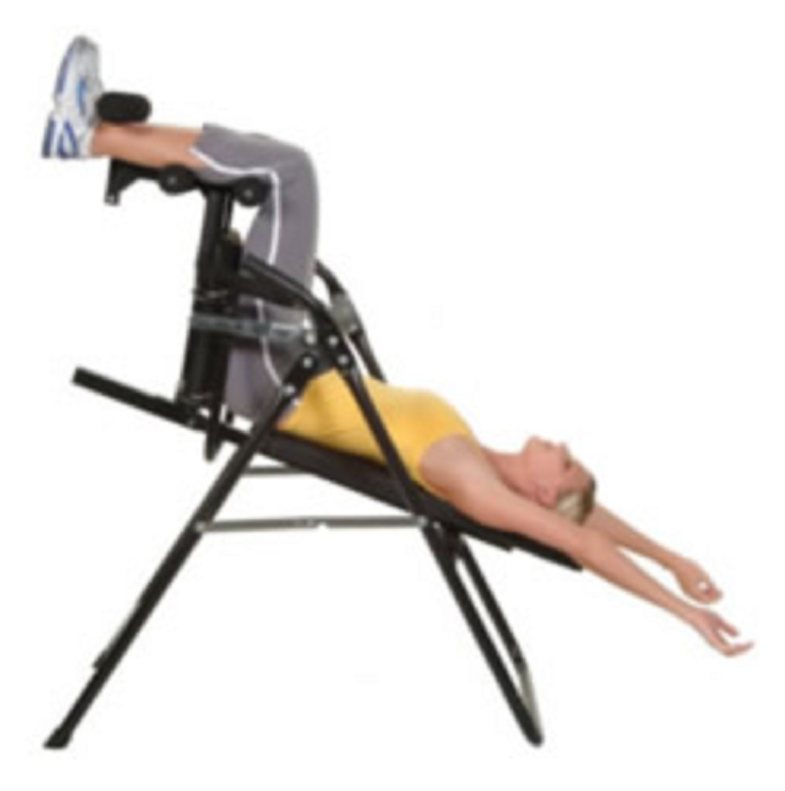 Core inversion chair for exercise therapy and chiropractic for Table inversion