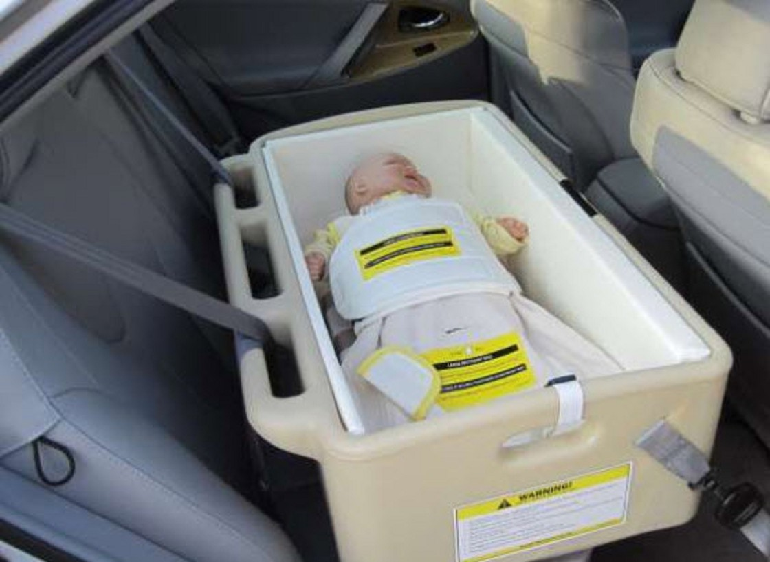 Baby bed like car seat - Hope Infant Special Needs Car Seat Bed