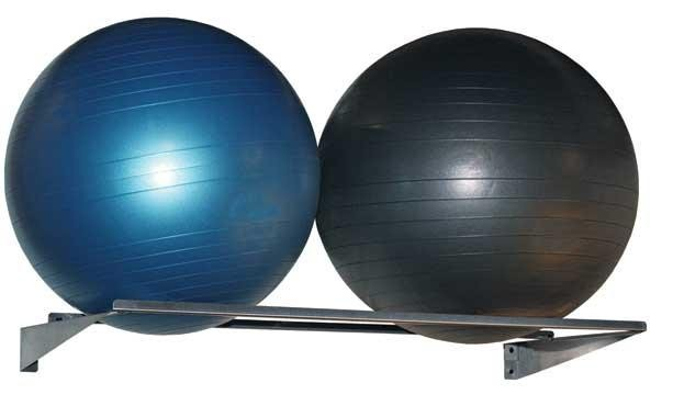 Stainless Therapy Ball Wall Rack