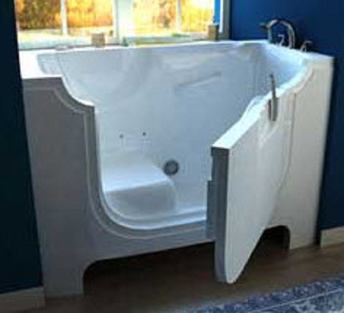 Pelican Wheelchair Access Walk In Bathtub