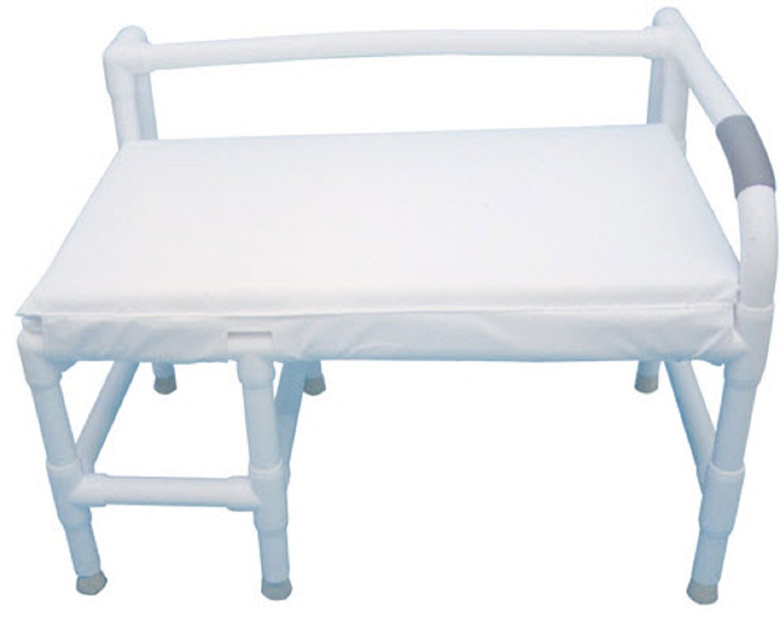 Bariatric padded non slip bath bench Padded benches