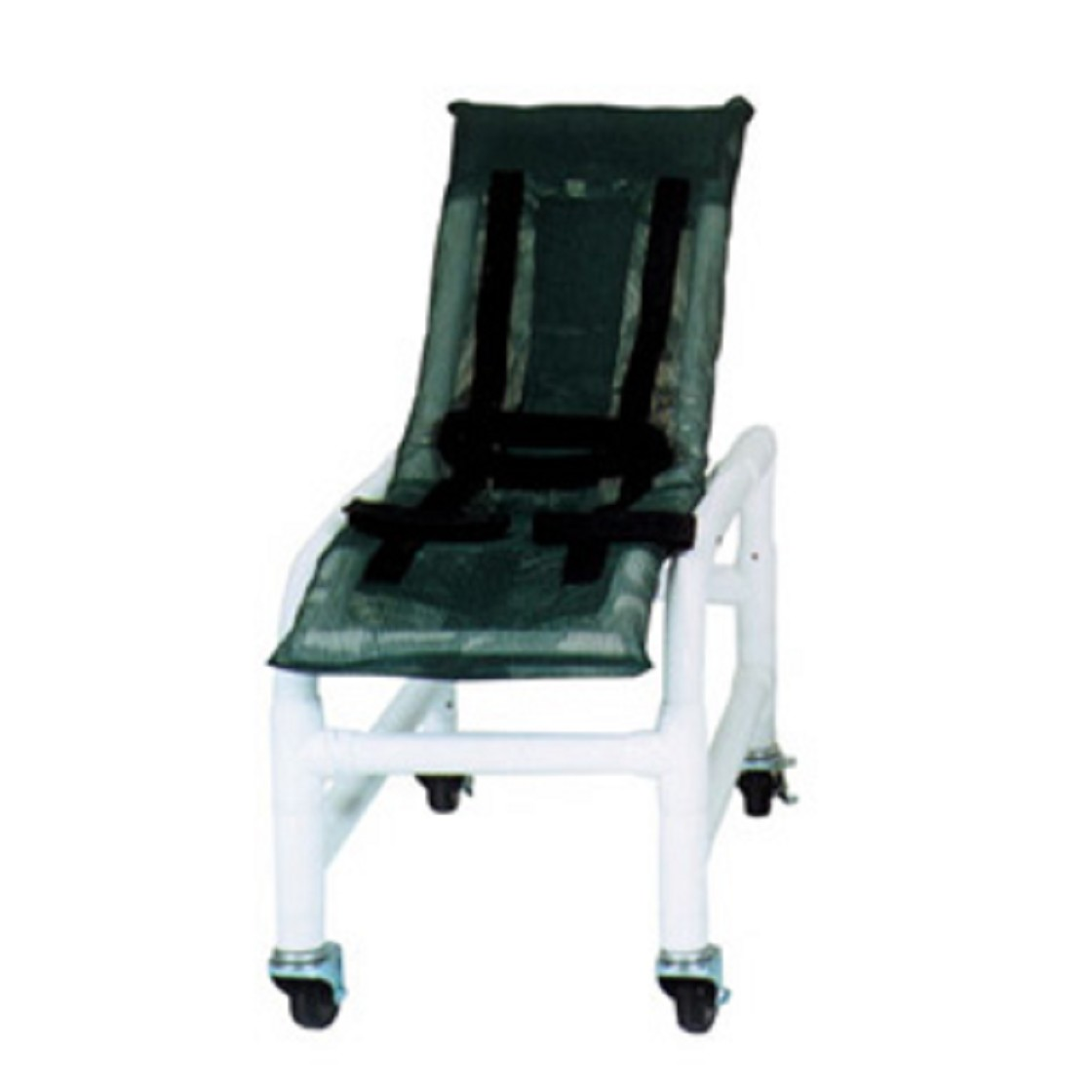 Small Reclining Bath Chair with Base Extension And Casters