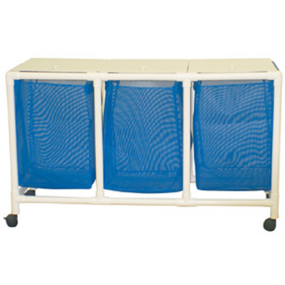 Echo wide triple hamper free shipping - Way laundry hamper ...