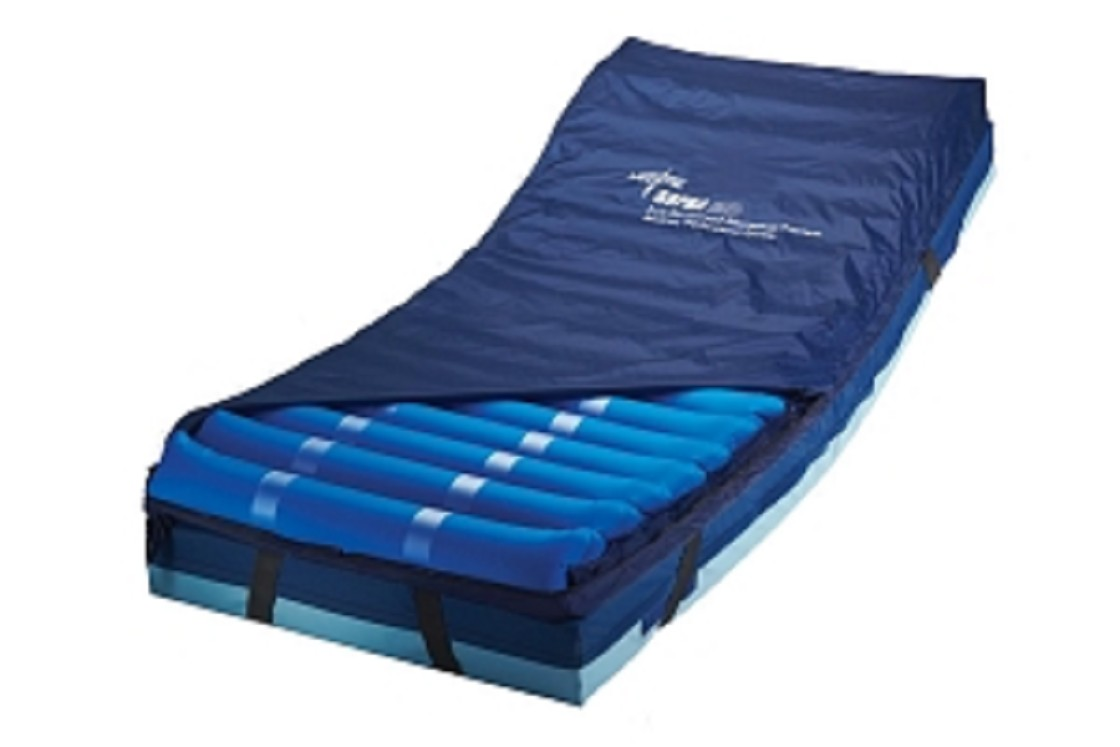 Water bed for patients - Supra Exo Alternating Pressure Overlay Attachment