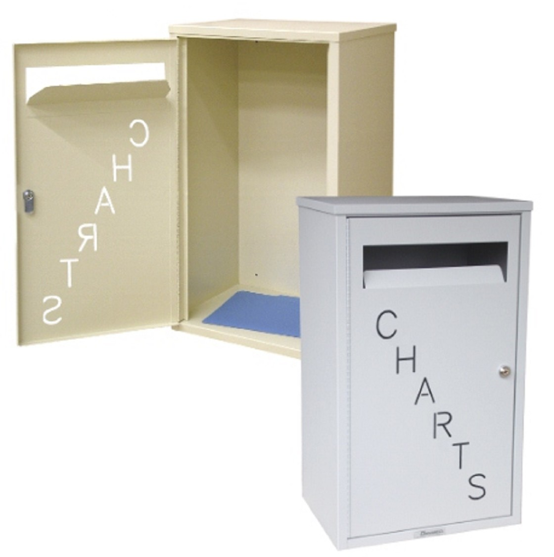 Locking Medical Chart Drop Box