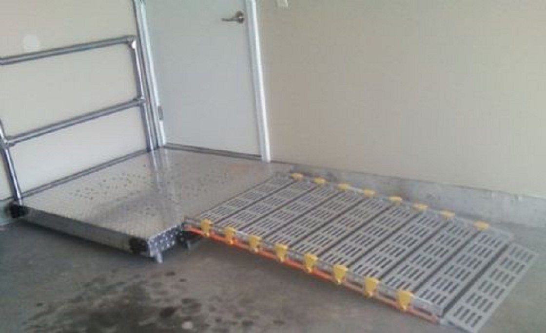 Roll A Ramp Wheelchair Ramp Platform With Or Without Handrails