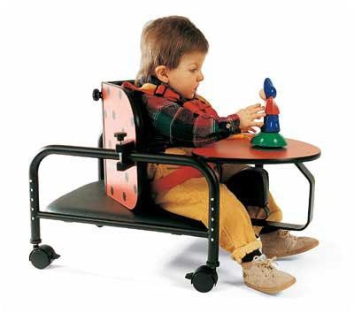 Real Design Ladybug Corner Pediatric Positioning Chair