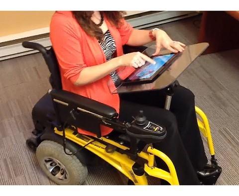 Scotty Kristen Wheelchair Tray