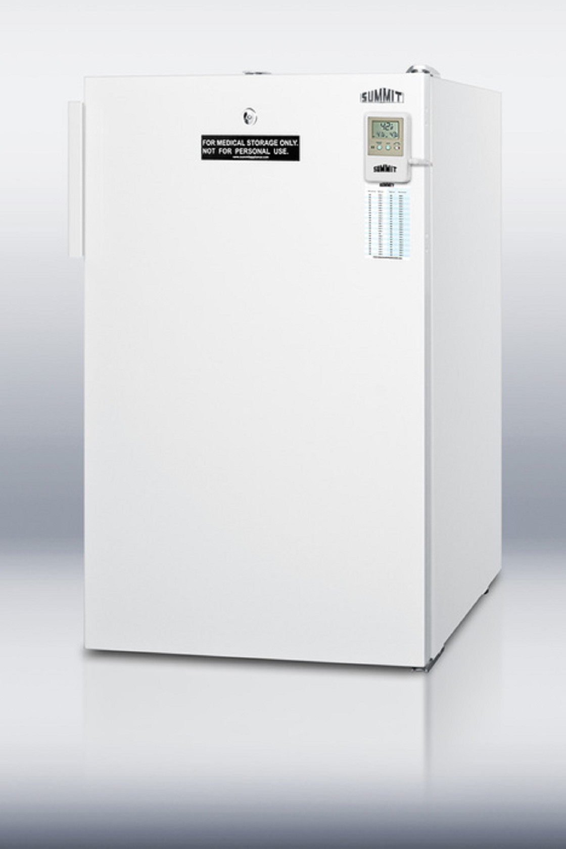 Accucold standard counter height medical refrigerator for Cabinet height